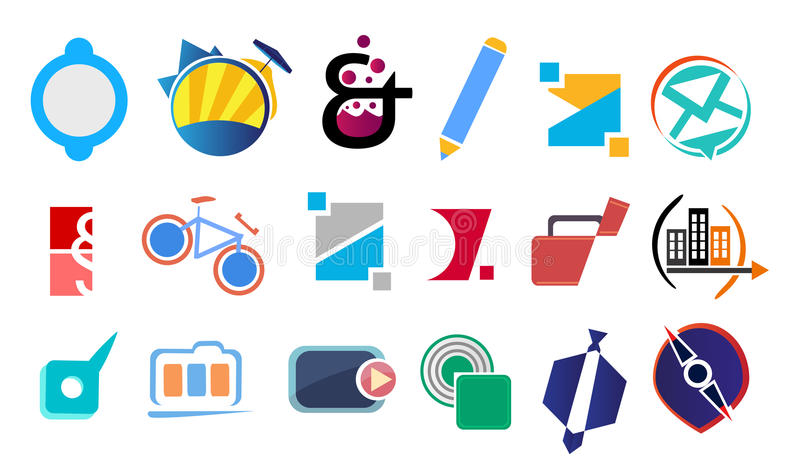 Design and logo elements vector illustration