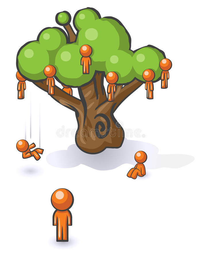 Download Design Mascot Falling Not Far From Tree Stock Vector - Image: 10006811
