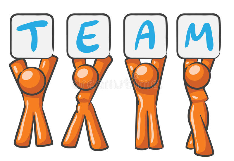 Download Design Mascot Team stock vector. Image of male, human - 10006906