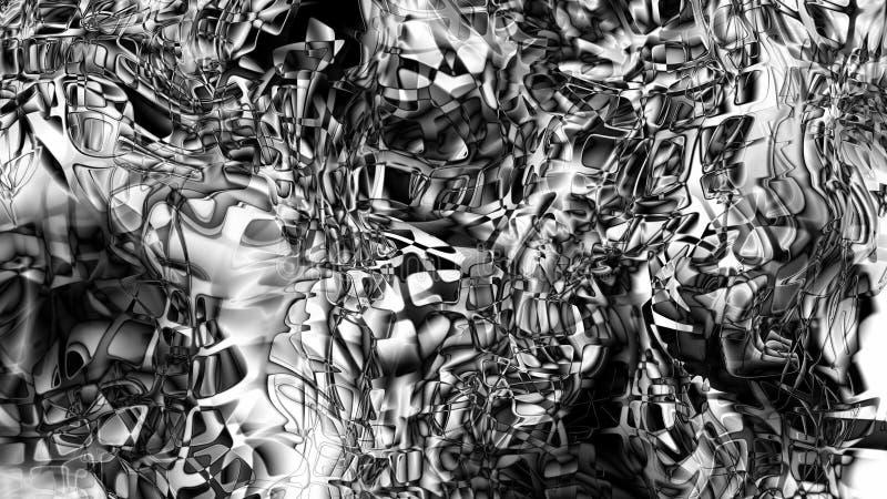Design Monochrome Pattern Background Beautiful elegant Illustration graphic art design Background. Image stock illustration