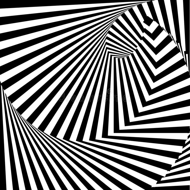 Free Design Monochrome Vortex Illusion Background Royalty Free Stock Image - 39087196