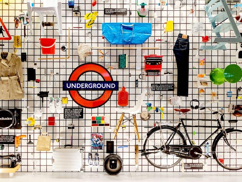 Design Museum: Designer Maker-användare arkivbilder