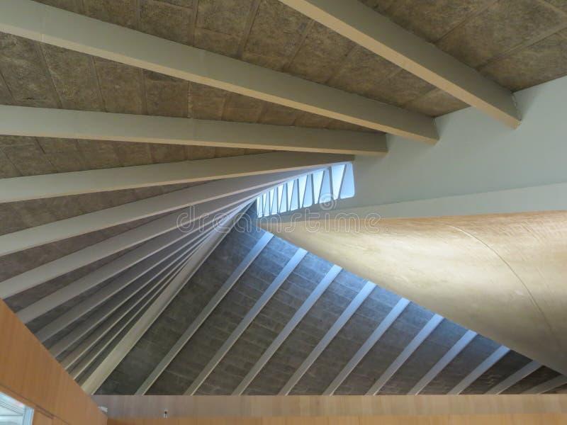 Design Museum interior royalty-vrije stock afbeeldingen