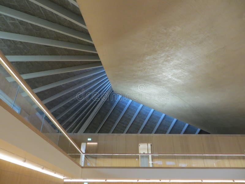 Design Museum interior royalty-vrije stock fotografie
