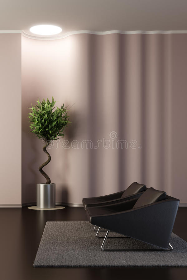 Free Design Of The Lounge Room Royalty Free Stock Photos - 12150258