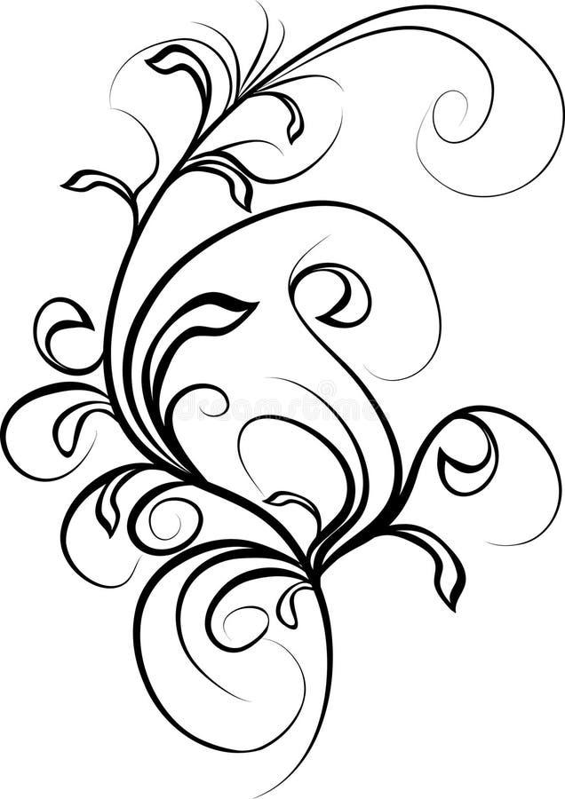 Design ornament royalty free illustration