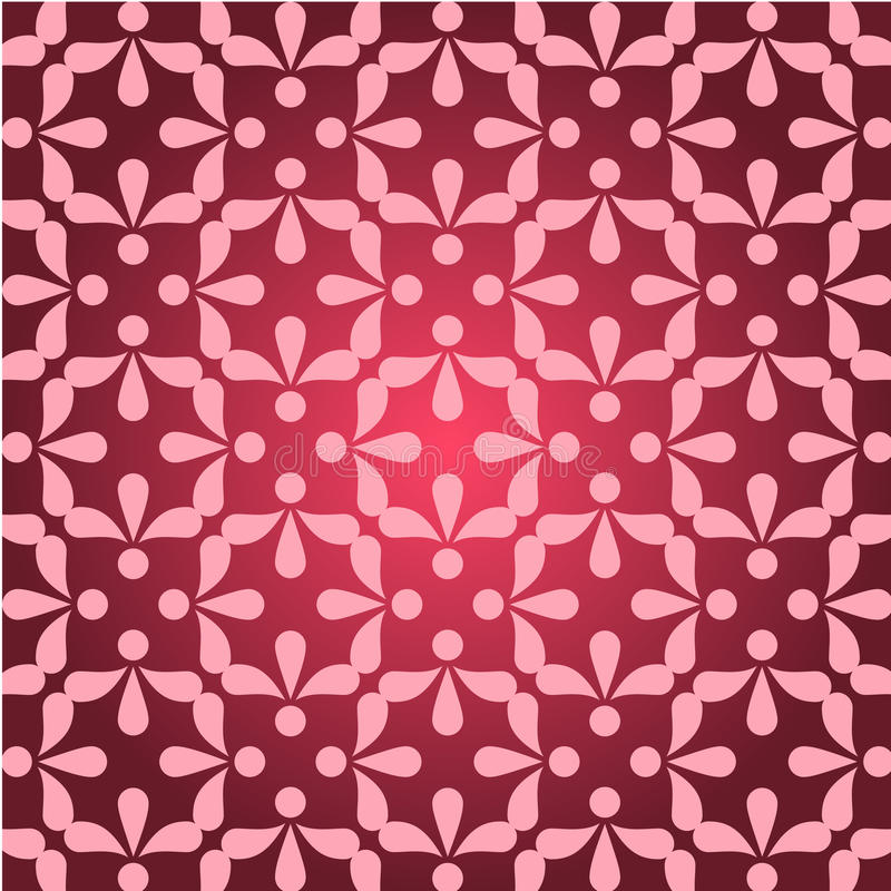 Design pink ornament pattern vector illustration