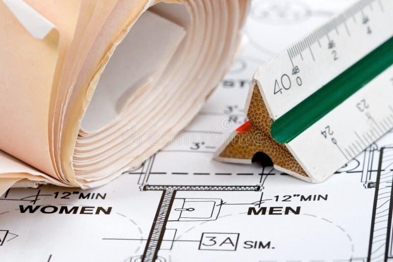 Design Plans stock images