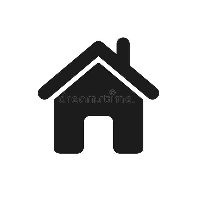 the icon of the house vector illustration stock vector rh dreamstime com house vector icon free download house vector icon