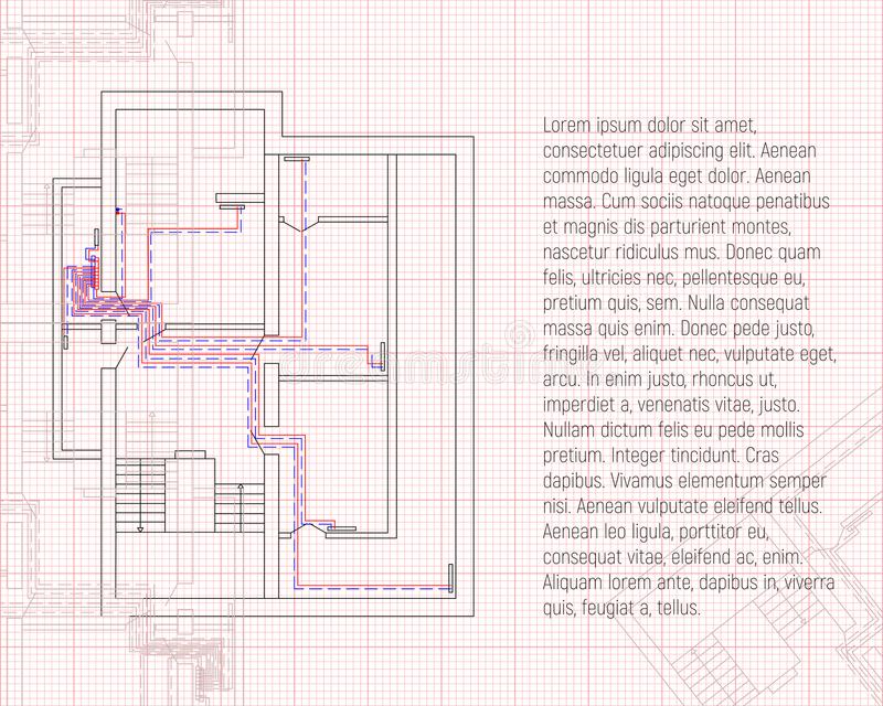 Design project of heating construction blueprint sketch technical download design project of heating construction blueprint sketch technical drawings in graph paper malvernweather Image collections