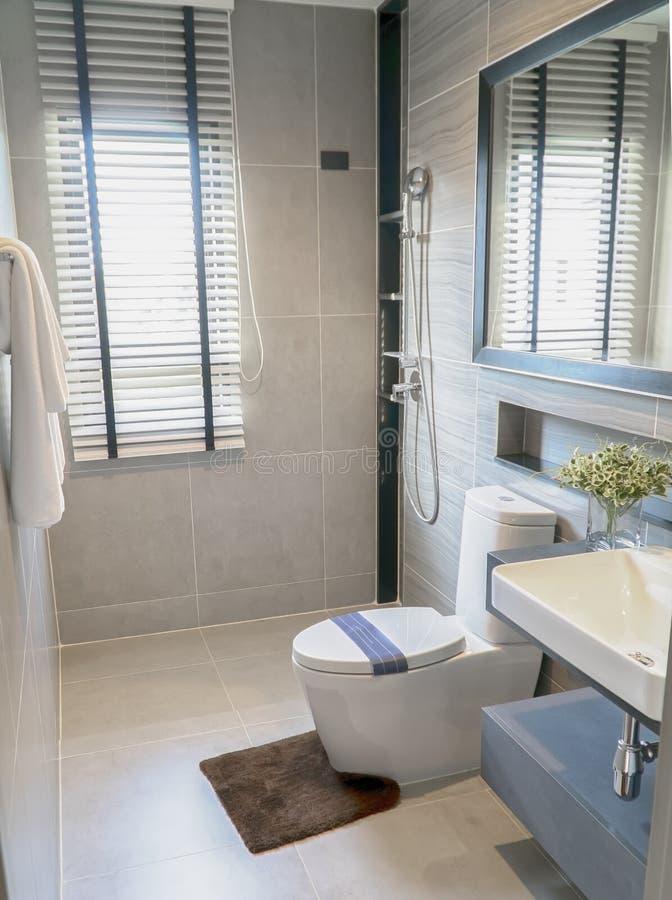 Design restroom and sanitary ware for elder.  stock image