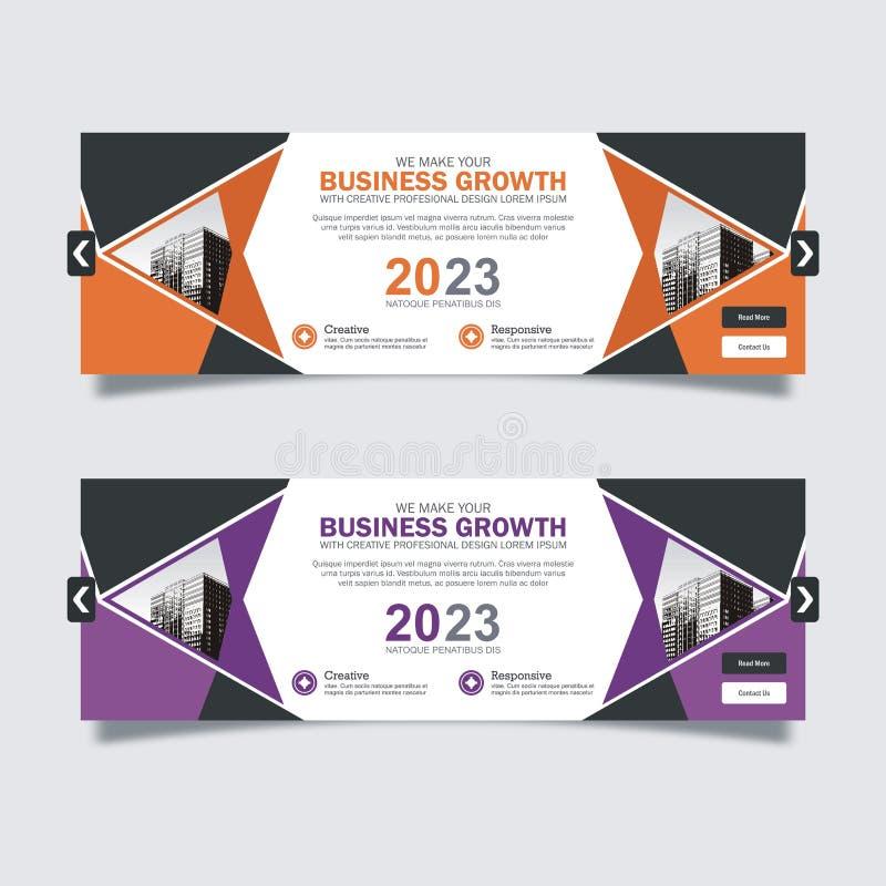 Design scorrevole per applicazioni business con design moderno e alla moda royalty illustrazione gratis