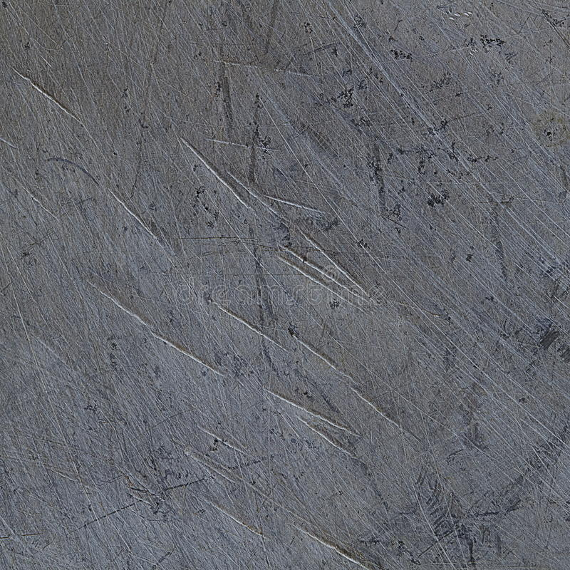 Design of scratch on steel. It is Design of scratch on steel royalty free stock image