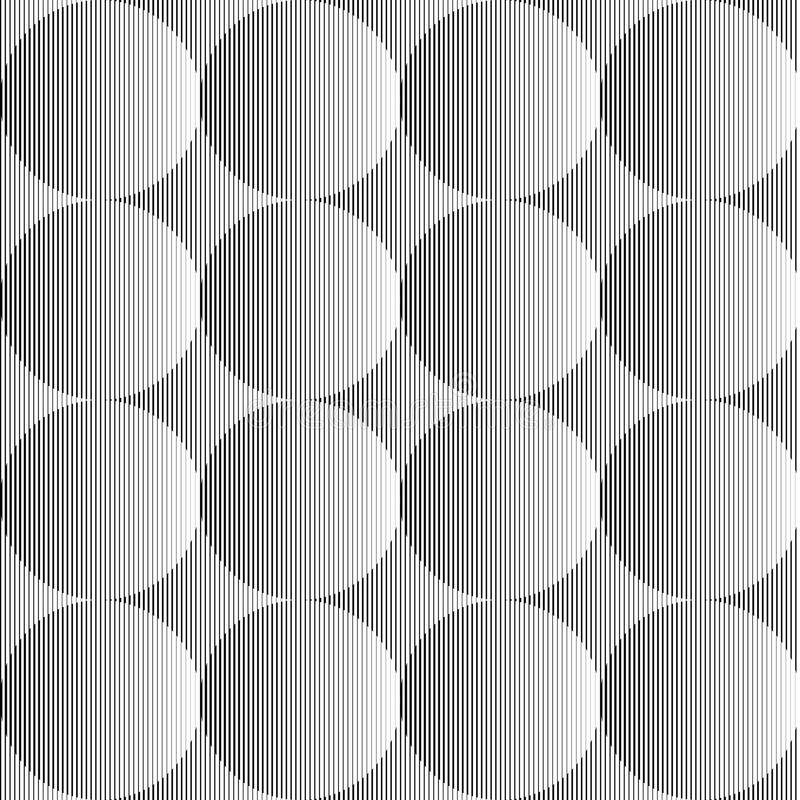 Free Design Seamless Monochrome Sphere Pattern Royalty Free Stock Photos - 45032548