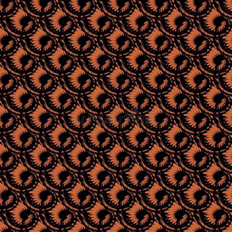 Free Design Seamless Spiral Diagonal Pattern. Trellis B Royalty Free Stock Images - 35970119
