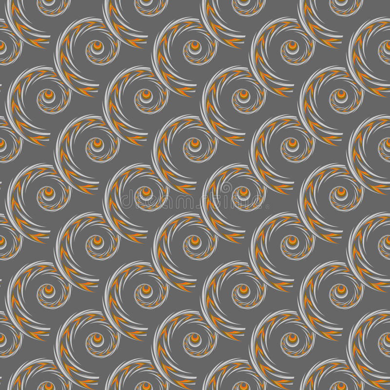 Design Seamless Spiral Pattern Royalty Free Stock Images