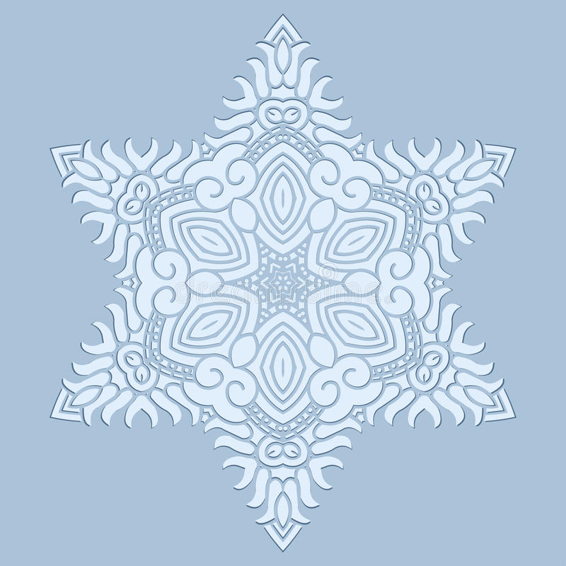 Download Design snowflake stock vector. Illustration of illustration - 26132234