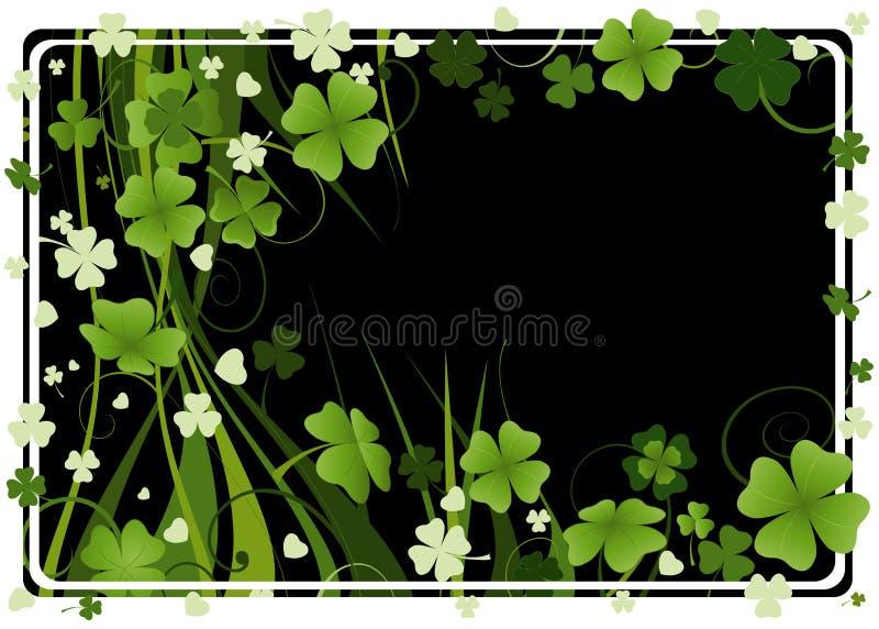 Design for St. Patrick's Day stock photo