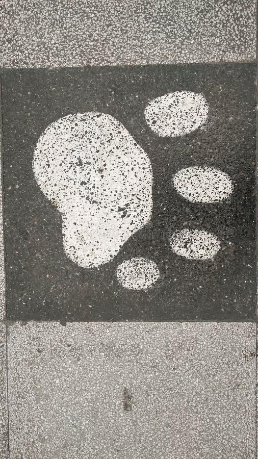 Design stone wall background, stone floor texture stock image