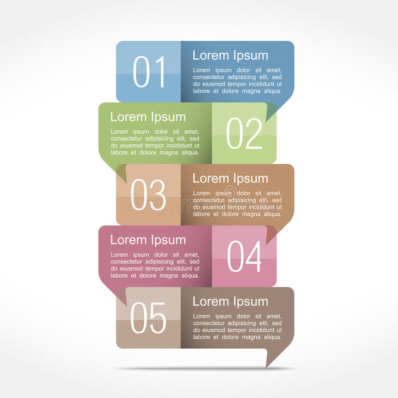 Download Design Template With Speech Bubbles Stock Vector - Image: 39162112