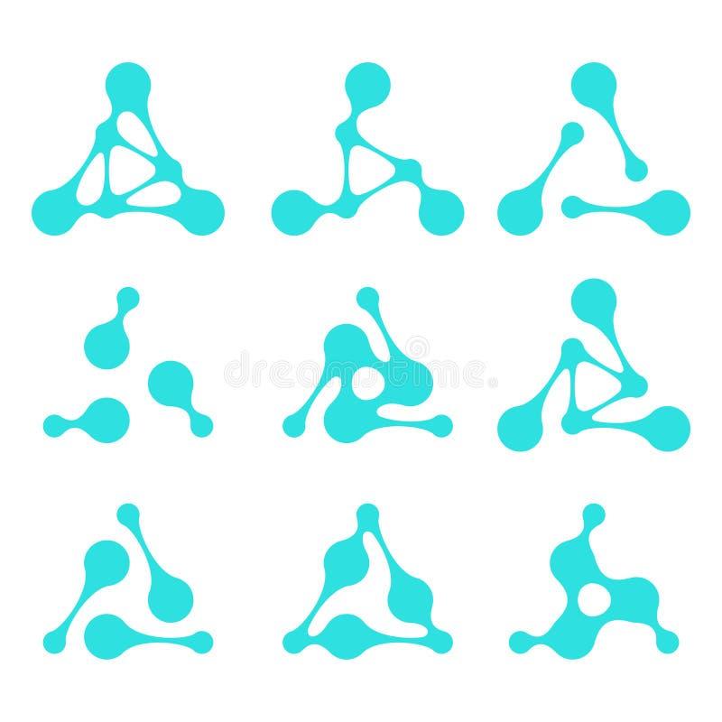 design triangle logo element stock photography image. Black Bedroom Furniture Sets. Home Design Ideas