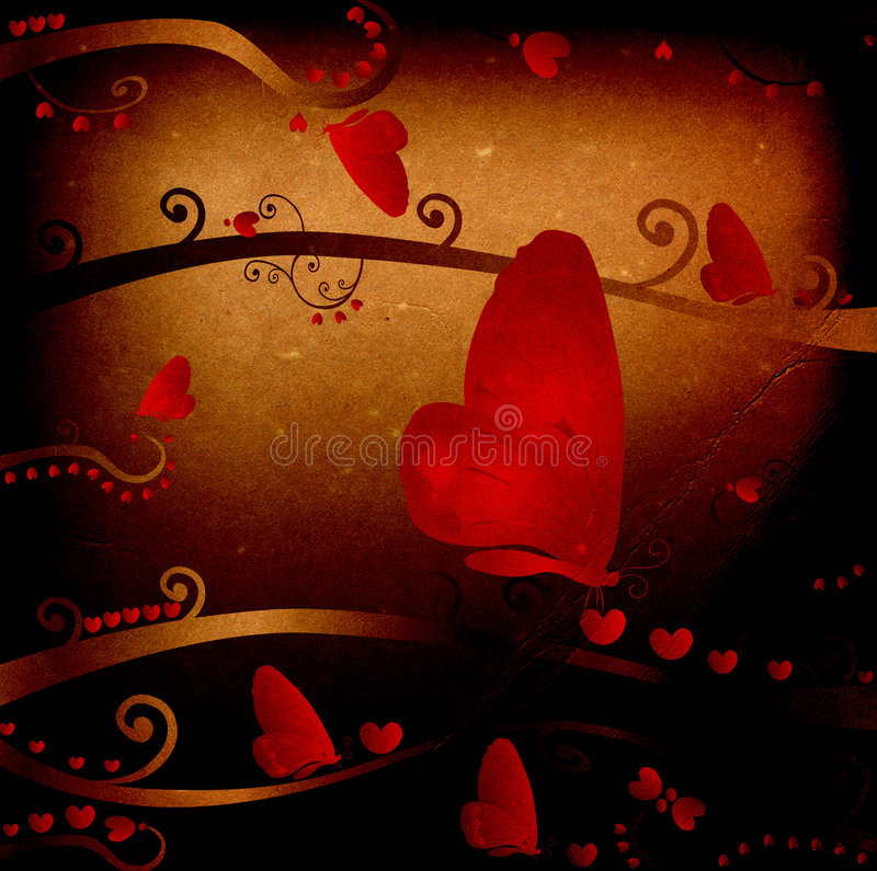 Design For Valentines Royalty Free Stock Images