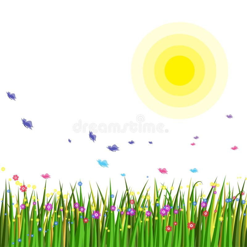 Design of vector colorful background. royalty free illustration