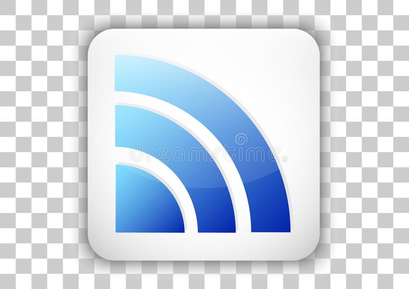 Wireless icon design with tile button background vector illustration