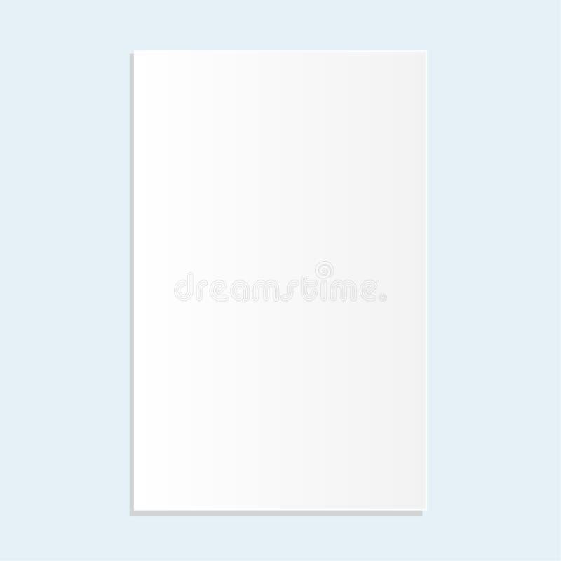 Design of vector paper background. stock illustration