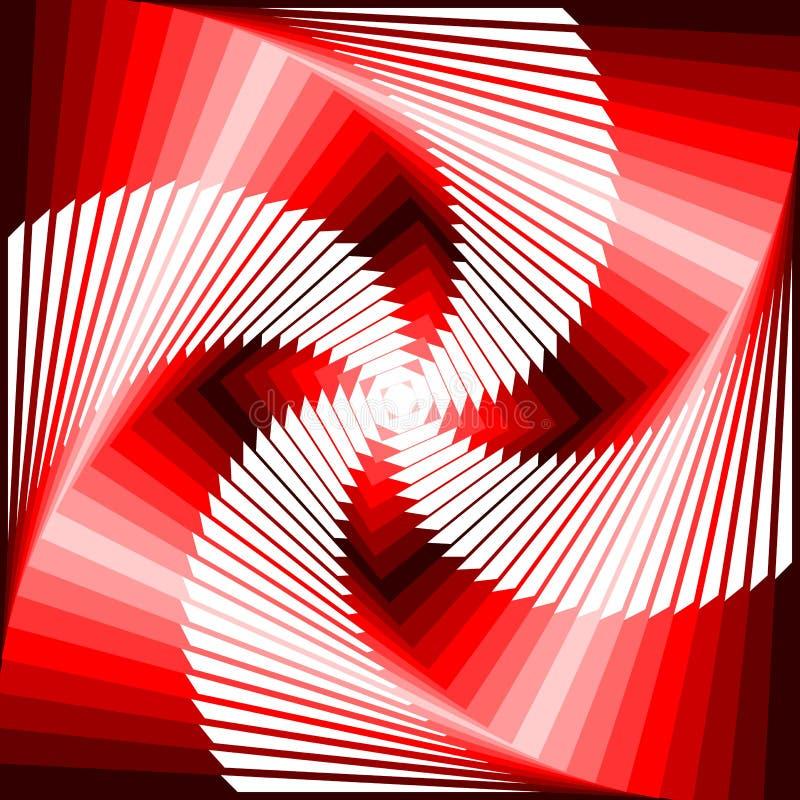 Download Design Vortex Movement Tetragon Background Stock Vector - Image: 38888760