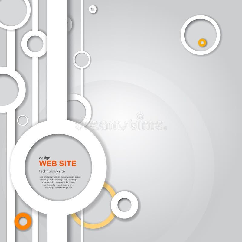 Design web abstrato ilustração royalty free