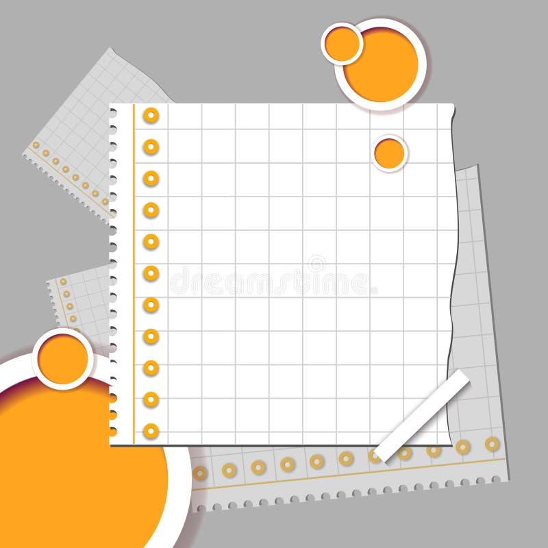 Design web abstrato ilustração stock