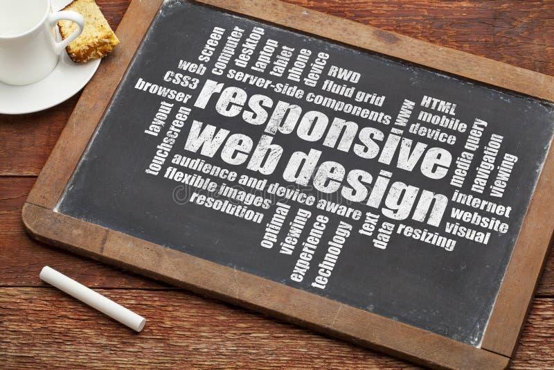 Design web responsivo fotos de stock royalty free