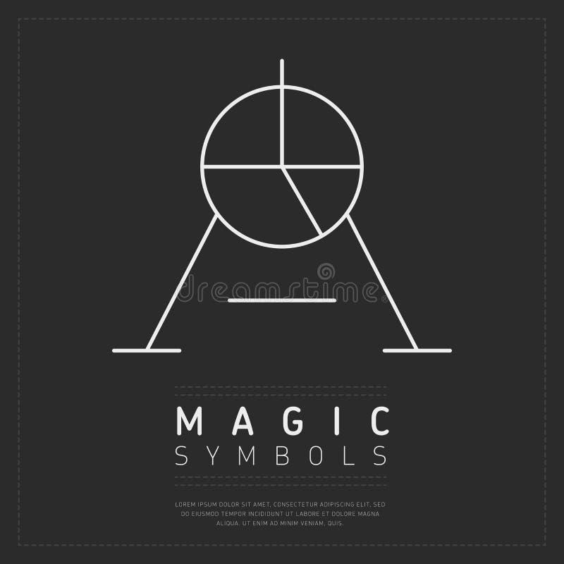 Creative Symbol Of Magic Stock Vector Illustration Of Legend