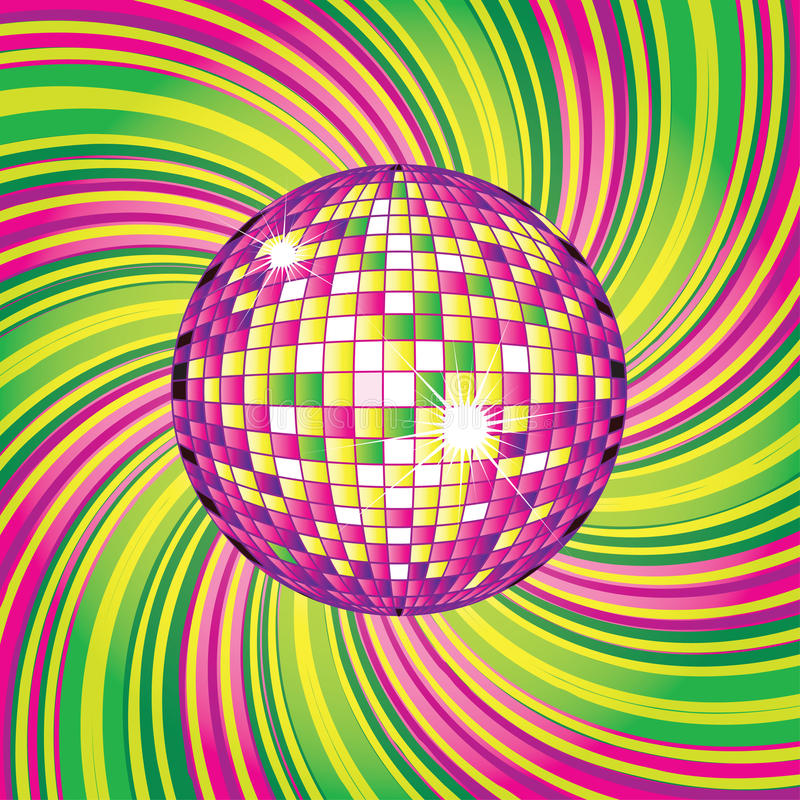 Free Design With Disco-ball Royalty Free Stock Photography - 13010147