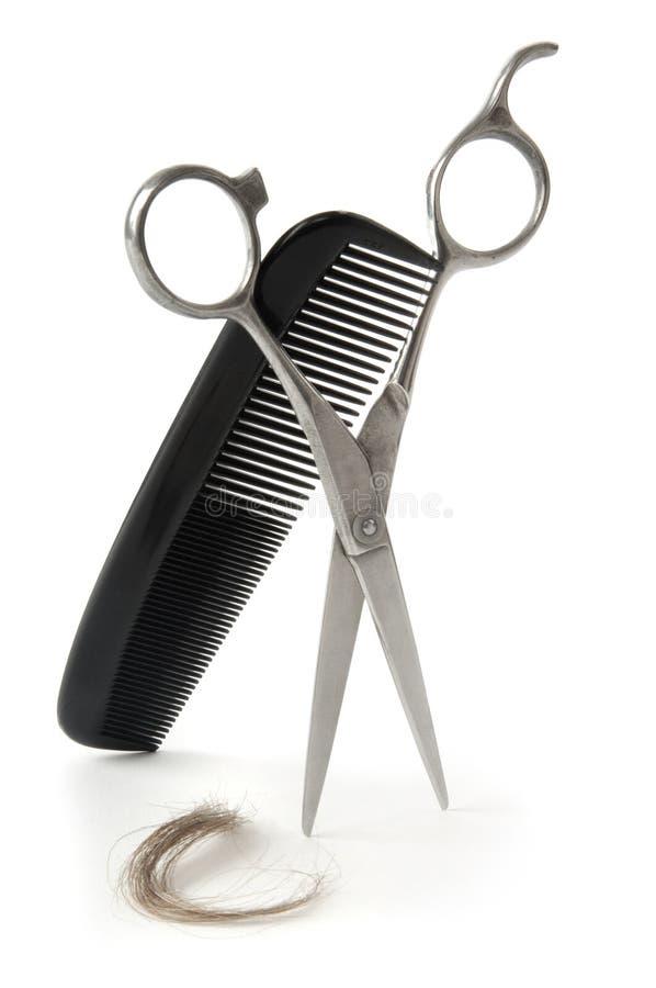Designazione dei capelli immagini stock