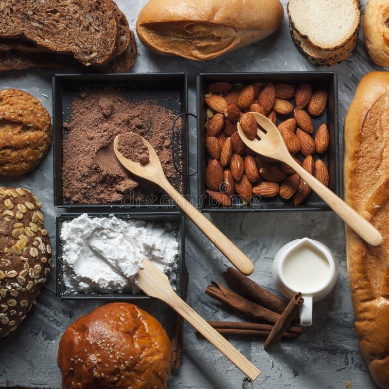 Designazione dei miscelatori del forno e del pane immagine stock