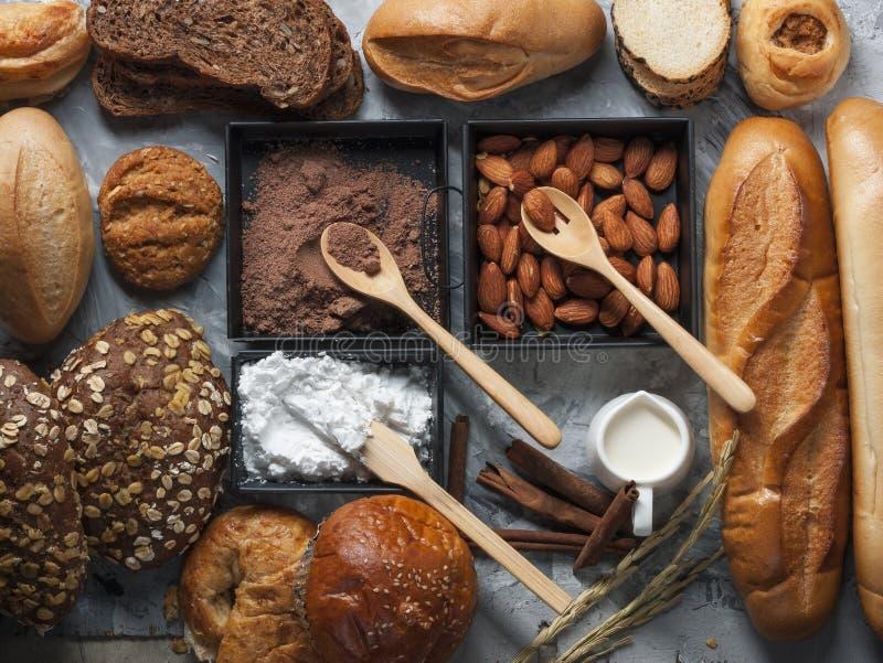 Designazione dei miscelatori del forno e del pane immagine stock libera da diritti