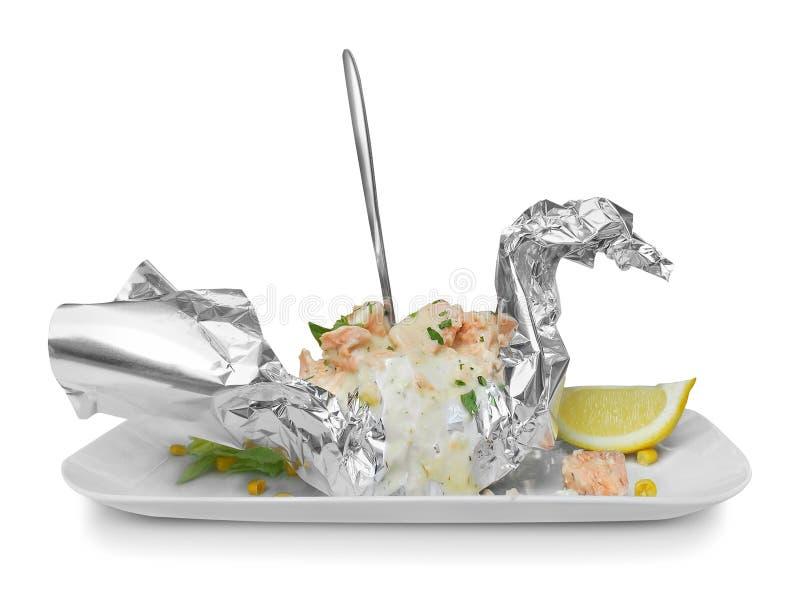 Designazione dell'alimento immagini stock