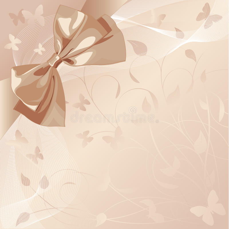 designbröllop vektor illustrationer