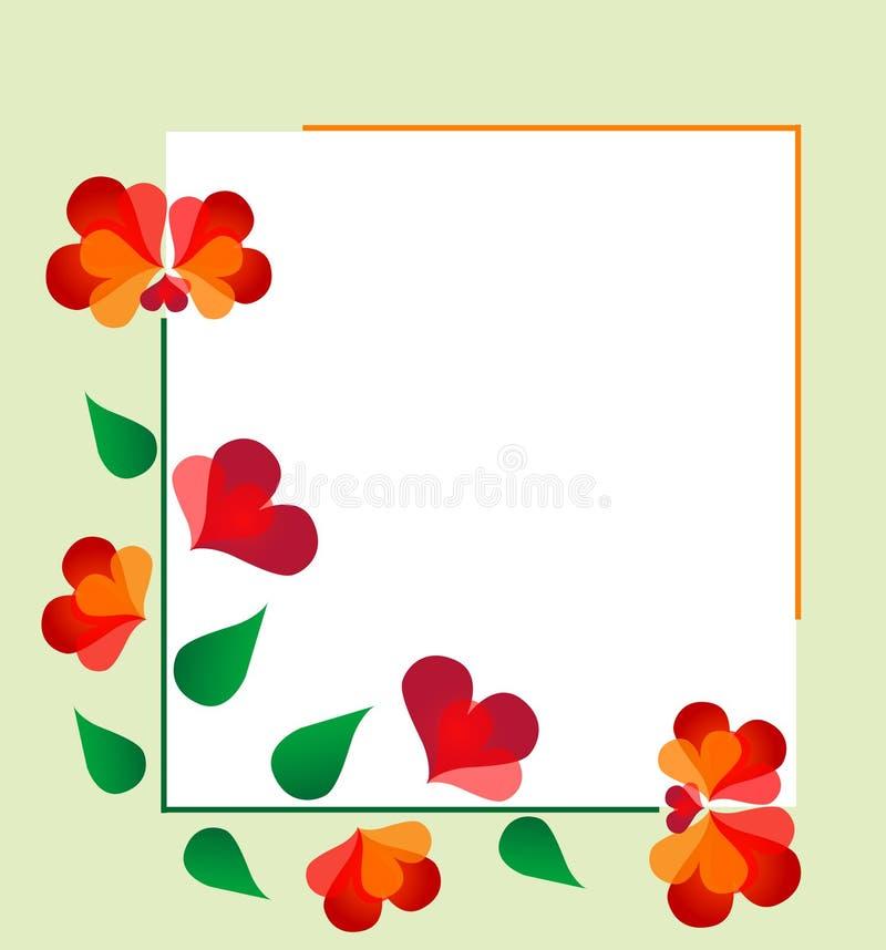 designe флористическое иллюстрация штока