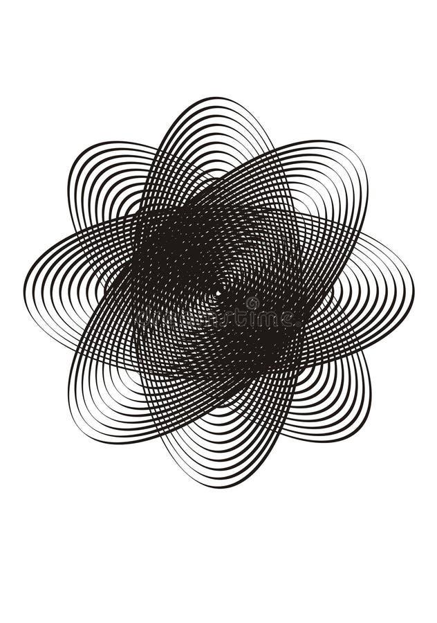 Designe del cerchio illustrazione vettoriale