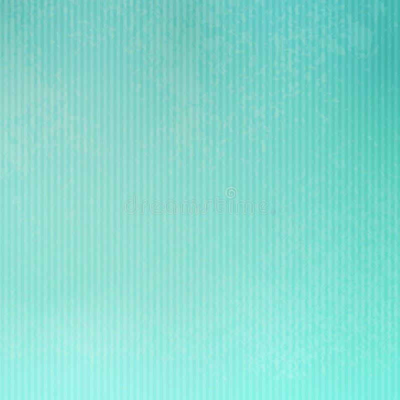 Designed grunge paper texture, background. Designed grunge turquoise paper texture, background EPS 10 stock illustration