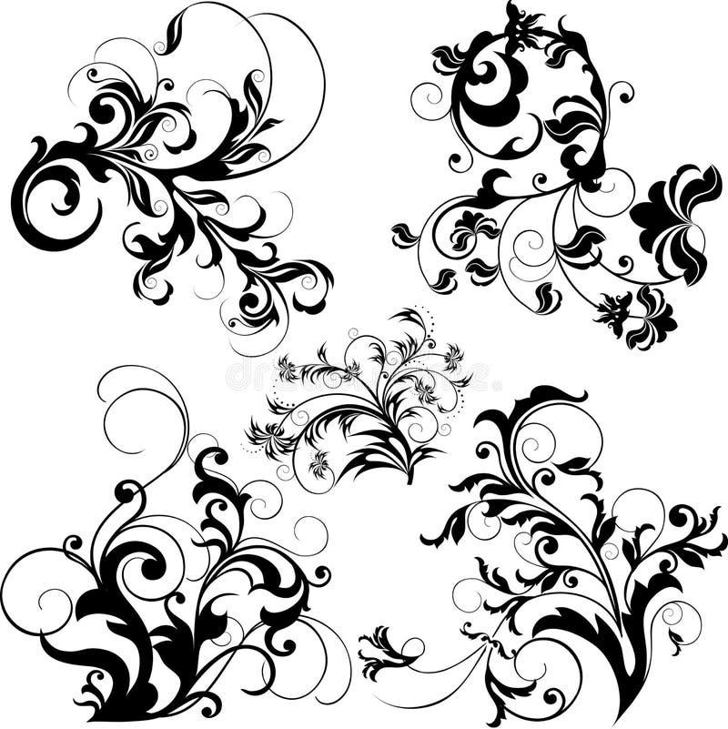 designelement vektor illustrationer