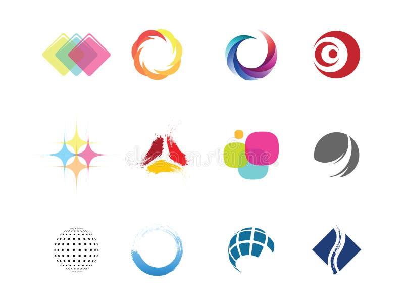 designelement stock illustrationer