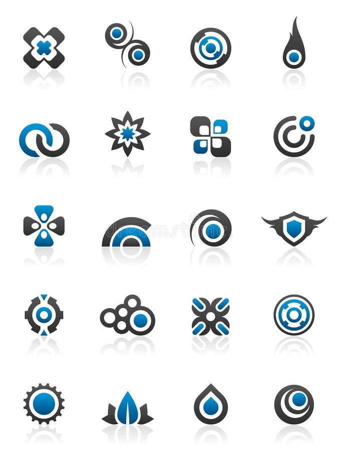 designelementdiagram vektor illustrationer