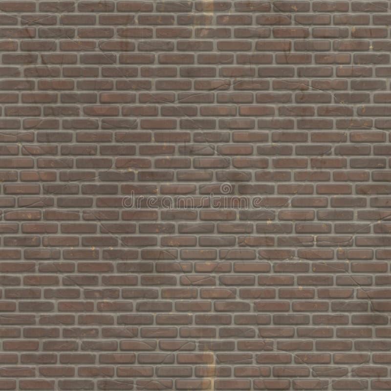 Designen för textur för tegelstenväggen med något skrapar hård yttersida royaltyfri fotografi