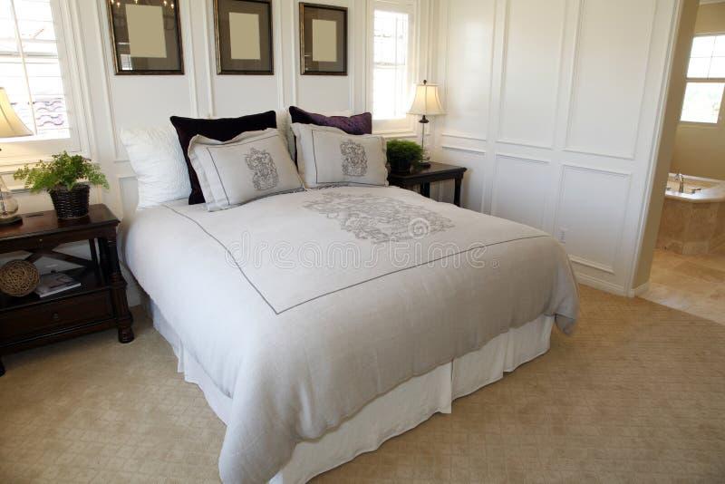 Download Designer bedroom stock image. Image of decor, pillows - 14032531