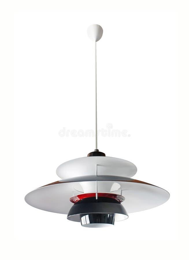 Designer ceiling lamp royalty free stock image