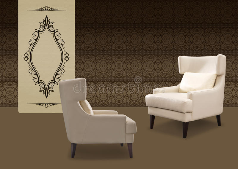 Designer chair royalty free stock images